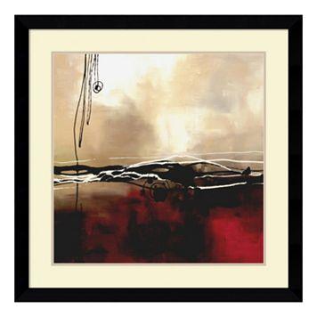 ''Symphony I'' Abstract Framed Wall Art