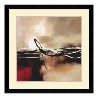 ''Symphony II'' Abstract Framed Wall Art