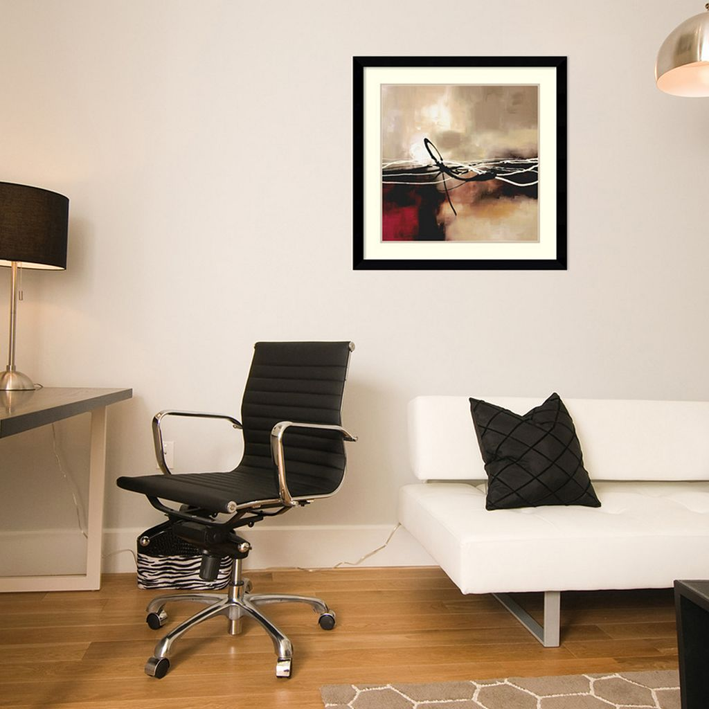 ''Symphony II'' Abstract Framed Wall Art