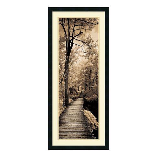 ''A Quiet Stroll I'' Framed Wall Art