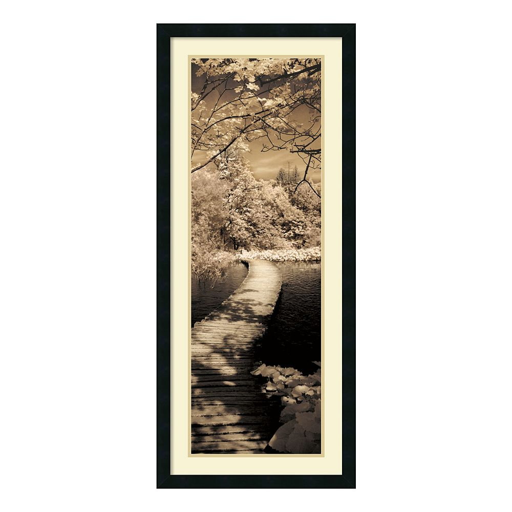 ''A Quiet Stroll II'' Framed Wall Art