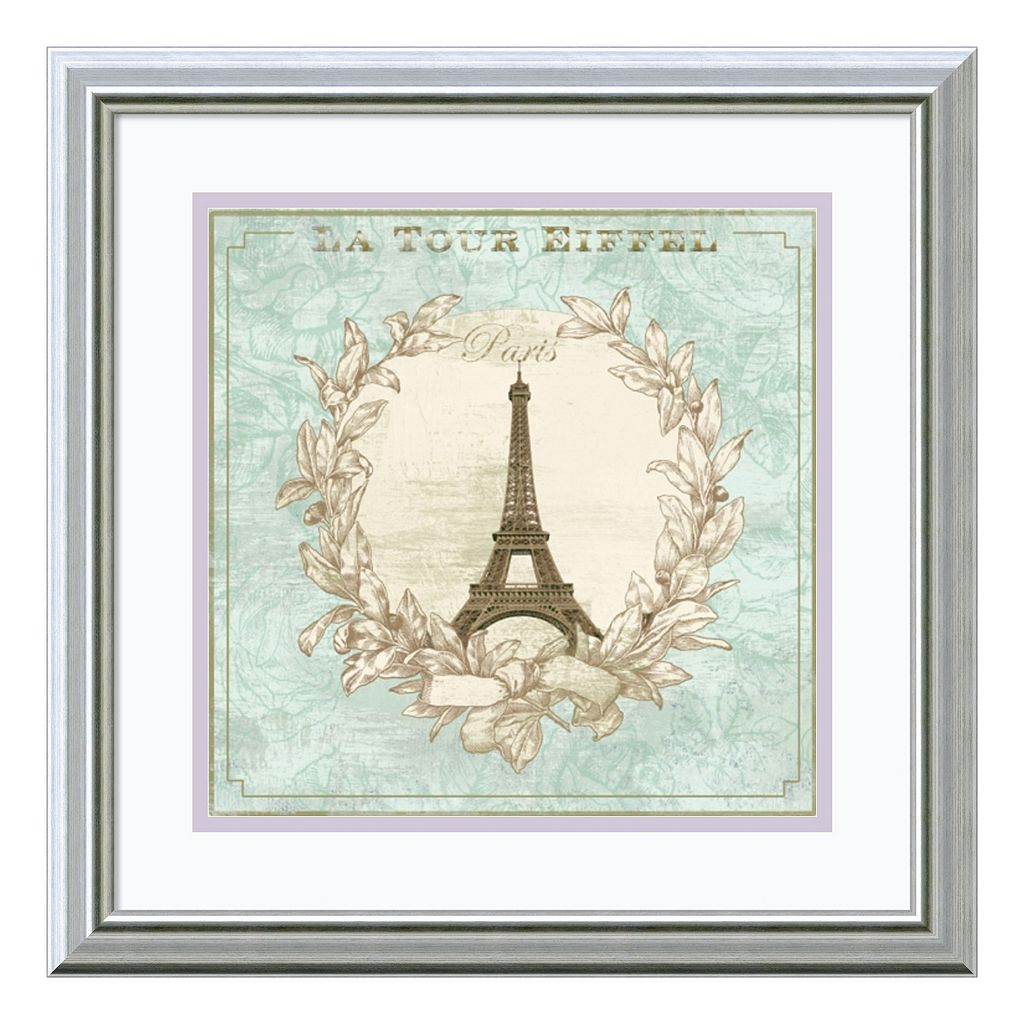 ''Tour de Eiffel'' Paris Framed Wall Art