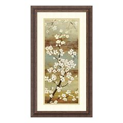 ''Blossom Canopy I'' Floral Framed Wall Art