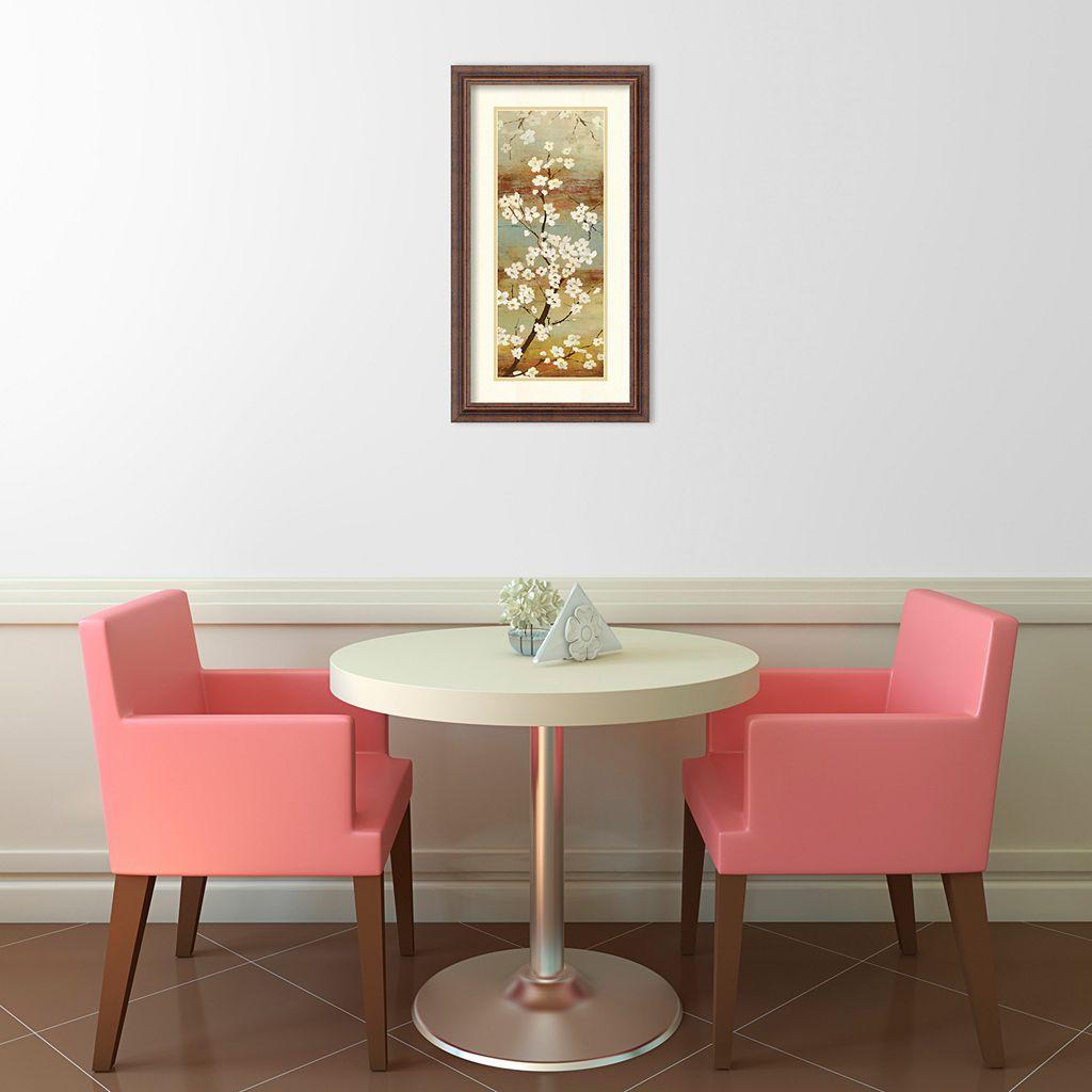 ''Blossom Canopy I'' Floral Framed Wall Art