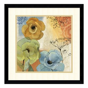 ''Olivia'' Floral Framed Wall Art