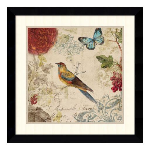 ''Nature's Rhapsody'' Bird Framed Wall Art