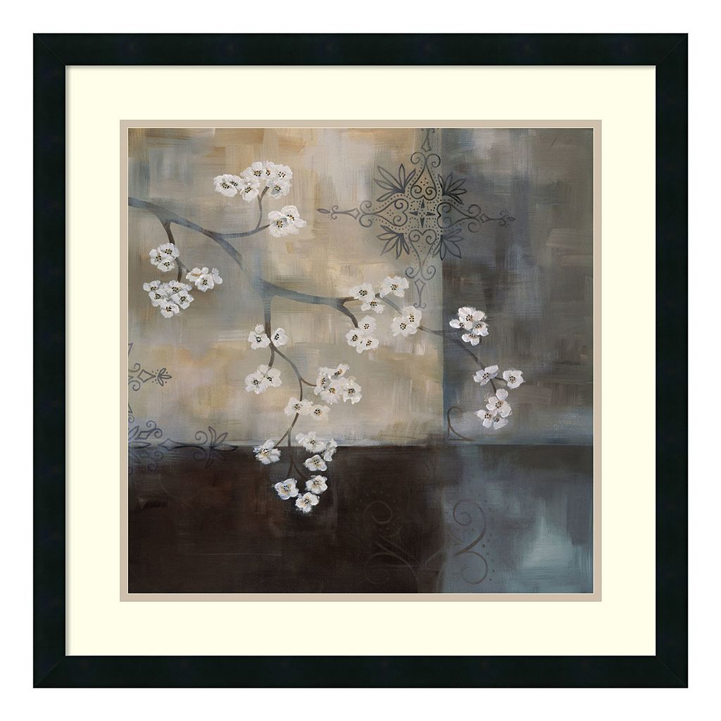 ''Spa Blossom II'' Floral Framed Wall Art