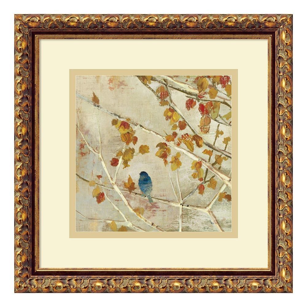 ''Singing II'' Bird Framed Wall Art