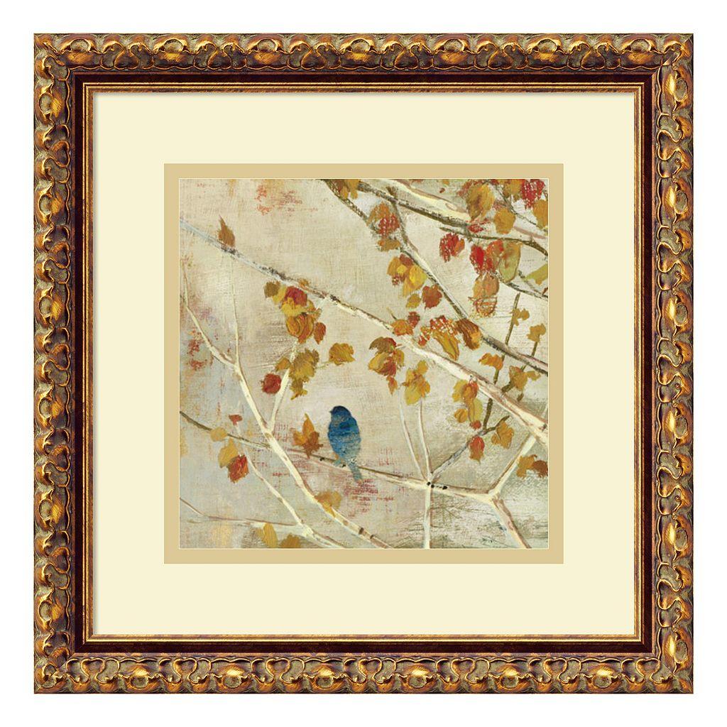 ''Singing II'' Bird Framed Wall Art