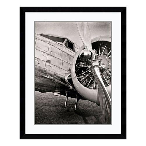 ''Lockheed 12A Electra Junior'' Plane Framed Wall Art