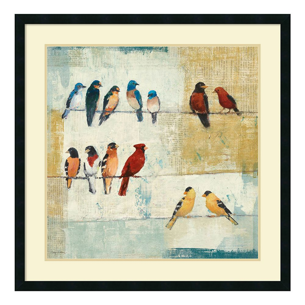 ''The Usual Suspects'' Bird Framed Wall Art