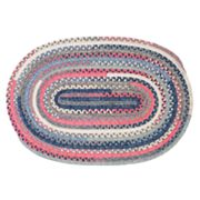 Colonial Mills Perfect Print Braided Reversible Rug - 3' x 5' Oval