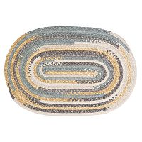 Colonial Mills Perfect Print Braided Reversible Rug - 4' x 6' Oval