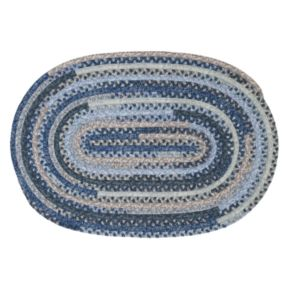 Colonial Mills Perfect Print Braided Reversible Rug - 8' x 10' Oval