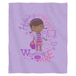 Disney Doc McStuffins Doc Love Sweatshirt Throw