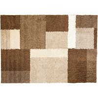 Infinity Home Madison Cubes Geometric Shag Rug - 5' x 7'2''