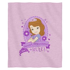 Disney Sofia the First Sweatshirt Throw