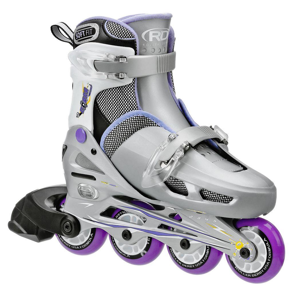 Roller Derby Cobra Adjustable Inline Skates - Girls