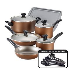 Farberware 15 pc Nonstick Aluminum Cookware Set