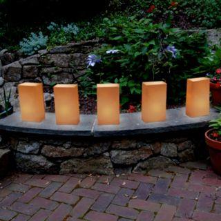 LumaBase Outdoor Tea Light Luminaria 12-piece Set