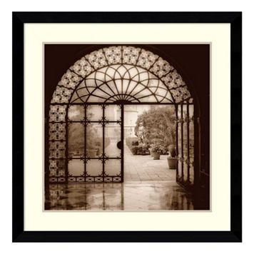 ''Courtyard in Venezia'' Framed Wall Art