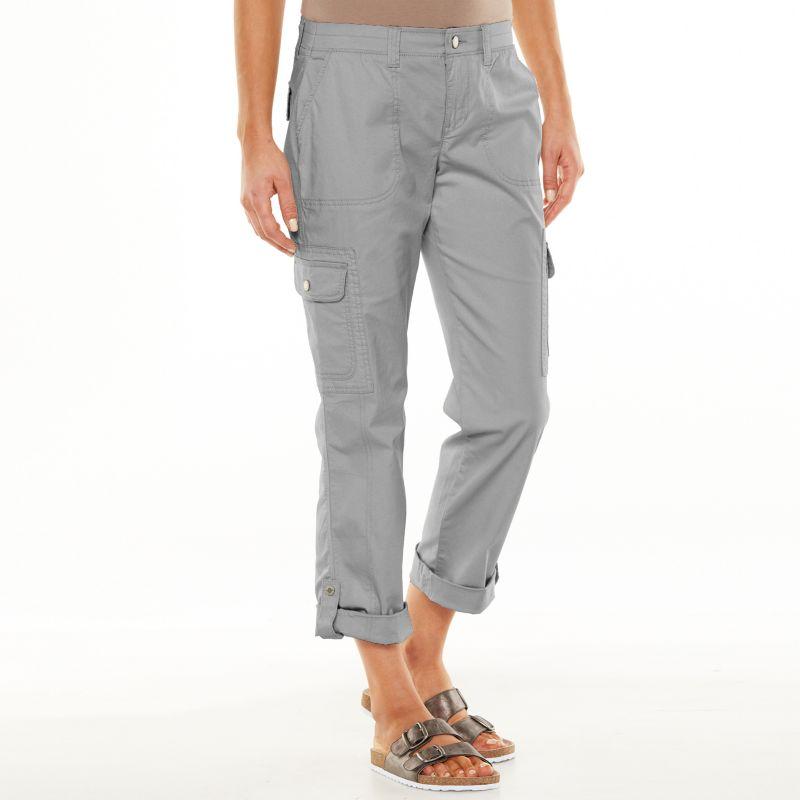 Sonoma life style convertible utility pants women s
