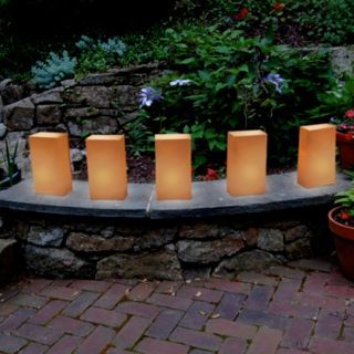 LumaBase 12-pk. LED Tealight Luminaria Set - Indoor and Outdoor