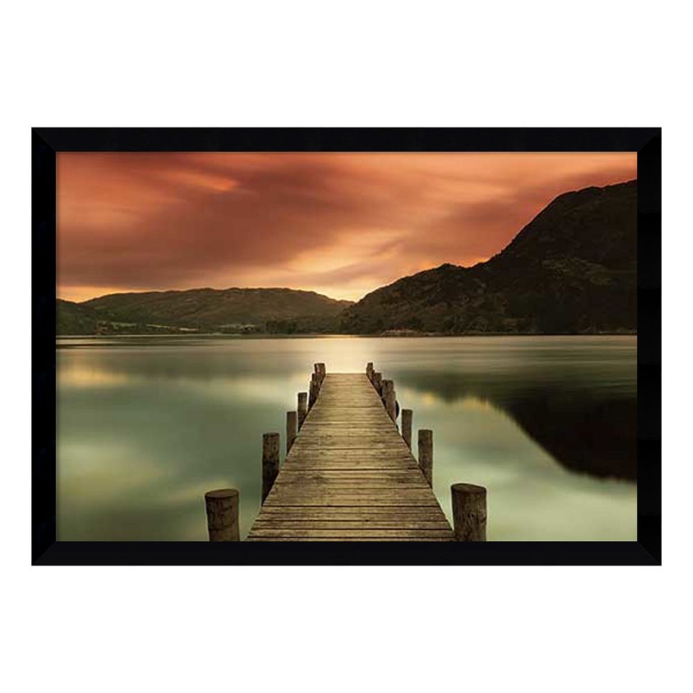 ''Ullswater'' Dock Framed Wall Art