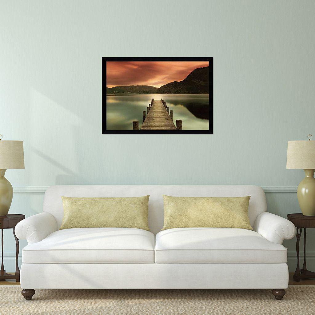 ''Ullswater'' Dock Framed Wall Art
