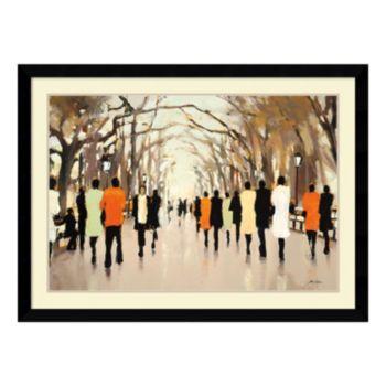 ''Poet's Walk'' Framed Wall Art