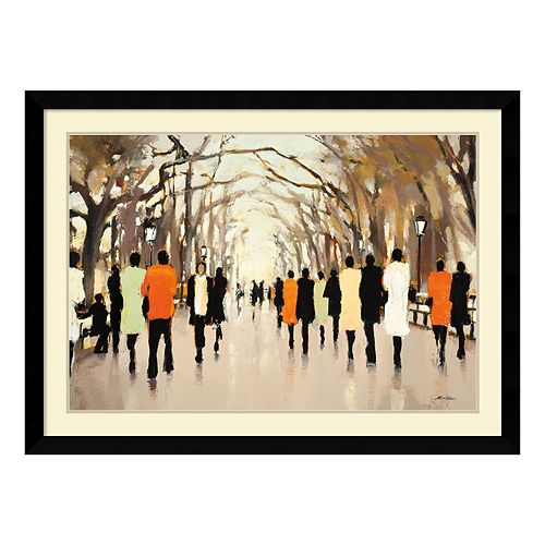 ''Poet's Walk'' Framed Wall Art