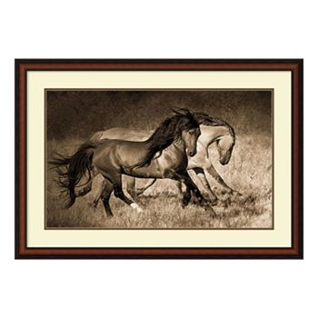 The Dance\'\' Horse Framed Wall Art