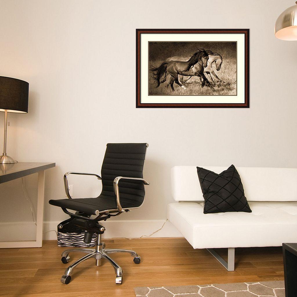 ''The Dance'' Horse Framed Wall Art