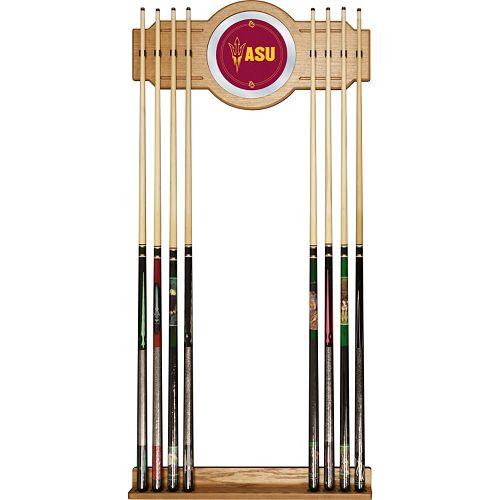 Arizona State Sun Devils Billiard Cue Rack with Mirror