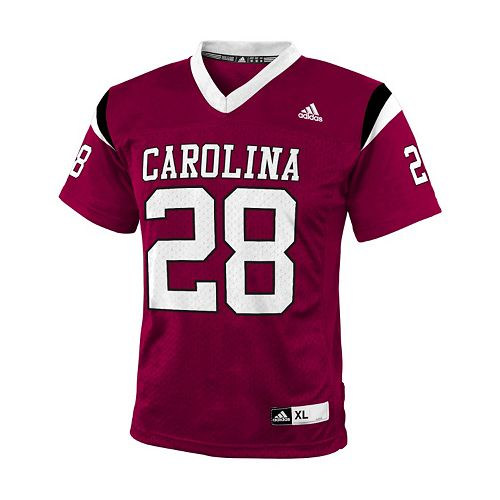 Boys 8 20 Adidas South Carolina Gamecocks Replica NCAA Football Jersey