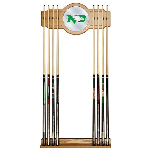North Dakota Billiard Cue Rack with Mirror
