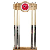 Dayton Flyers Billiard Cue Rack with Mirror