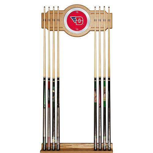 Dayton Flyers Billiard Cue Rack with Mirror