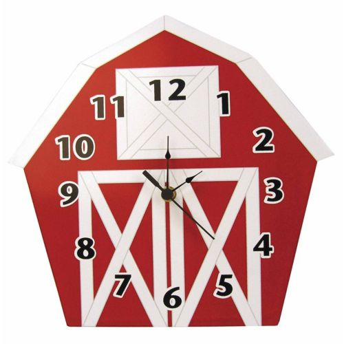 Trend Lab Barn Wall Clock