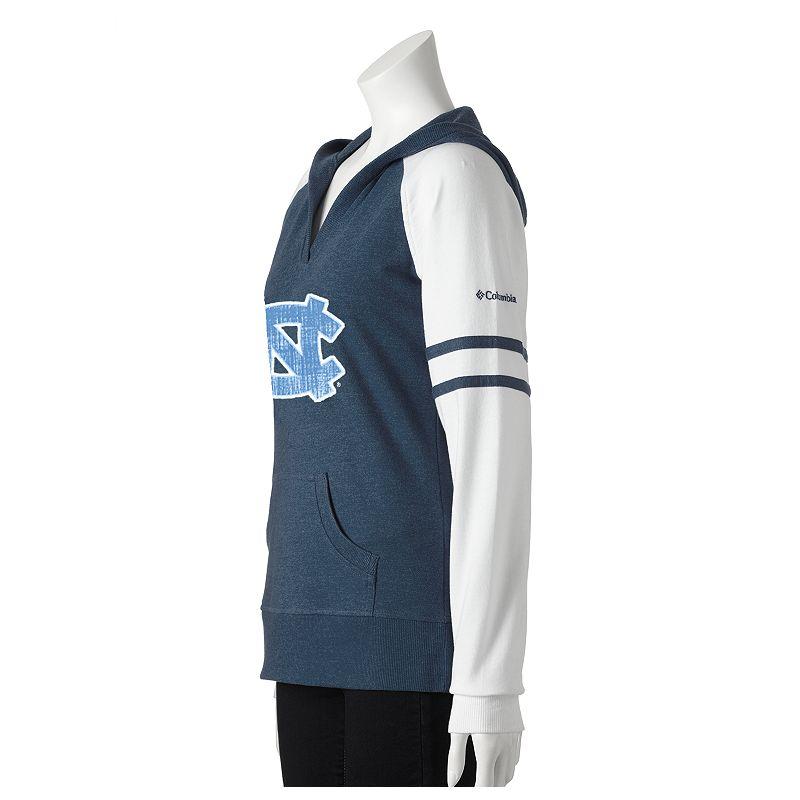 Columbia Sportswear North Carolina Tar Heels Campus Cutie Colorblock Hoodie - Women's