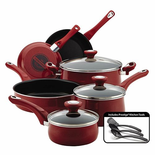 Farberware® New Traditions Speckled Aluminum Nonstick 12-pc. Cookware Set