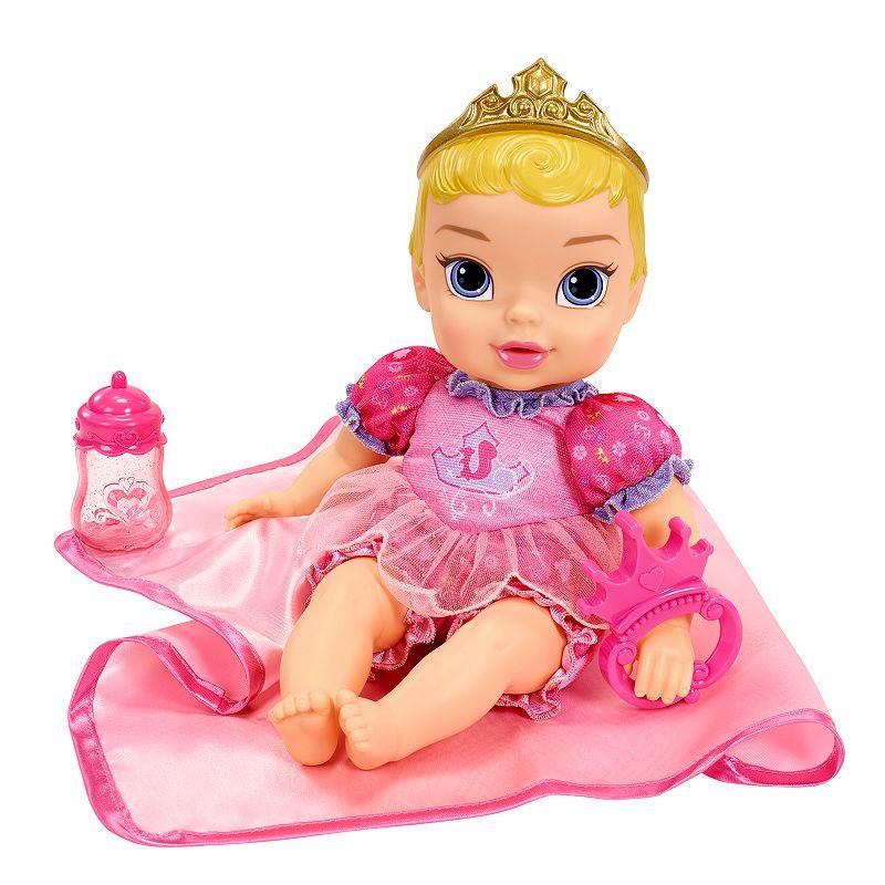 Disney Enchanted Nursery Cinderella Baby Doll In Blue: Girls Princess Doll