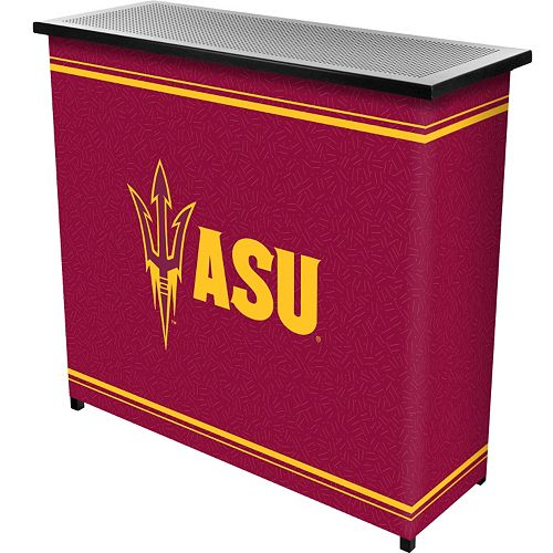 Arizona State Sun Devils 2-Shelf Portable Bar with Case