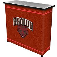 Brown Bears 2-Shelf Portable Bar with Case