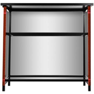 Brown Bears 2-Shelf Portable Bar with Case