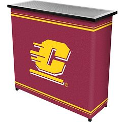 Central Michigan Chippewas 2-Shelf Portable Bar with Case