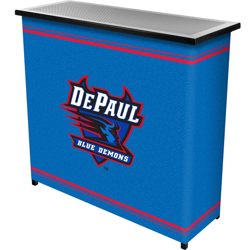 DePaul Blue Demons 2-Shelf Portable Bar with Case