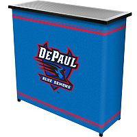 DePaul Blue Demons 2-Shelf Portable Bar with Case