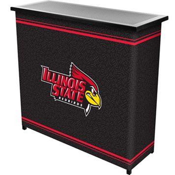 Illinois State Redbirds 2-Shelf Portable Bar with Case