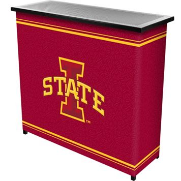 Iowa State Cyclones 2-Shelf Portable Bar with Case